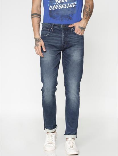 Blue Light Wash Ben Skinny Fit Jeans