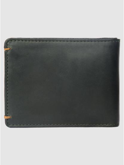 Dark Green Leather Wallet