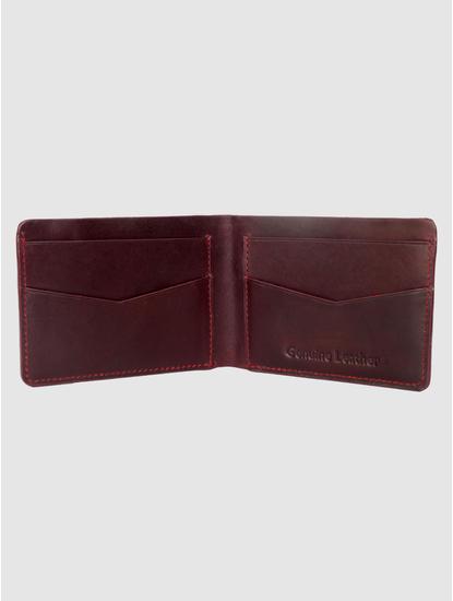 Dark Brown Leather Wallet
