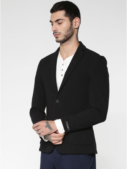 Black Slim Fit Blazer