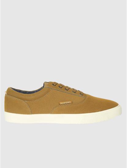 Brown Suede Sneakers