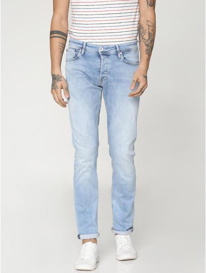 Light Blue Glenn Slim Fit Jeans