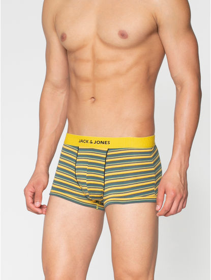 Yellow Striped Brazilian Trunks