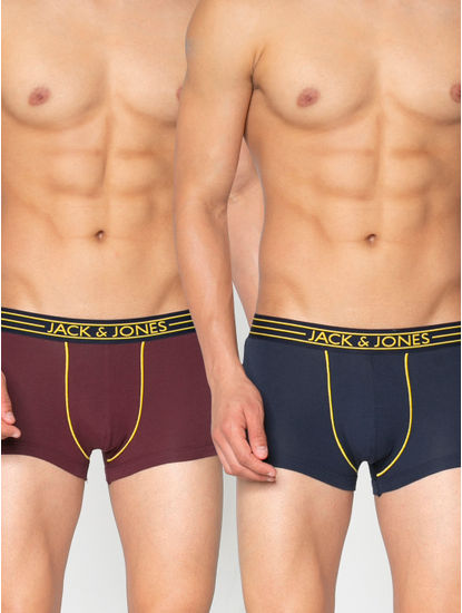 Pack of Two Brazilian Trunks - Red and Blue