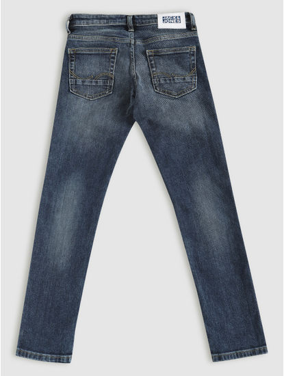 Junior Blue Low Rise Ben Skinny Fit Jeans