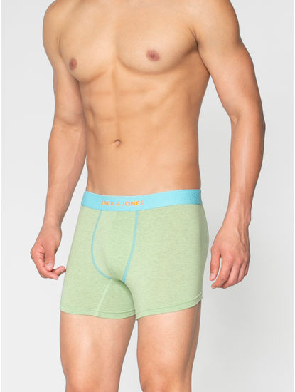 Green And Blue Trunks