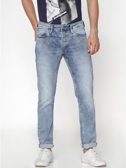 Light Blue Slim Fit Glenn Slim Fit Jeans
