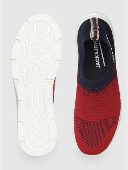 Red Slip On Sneakers