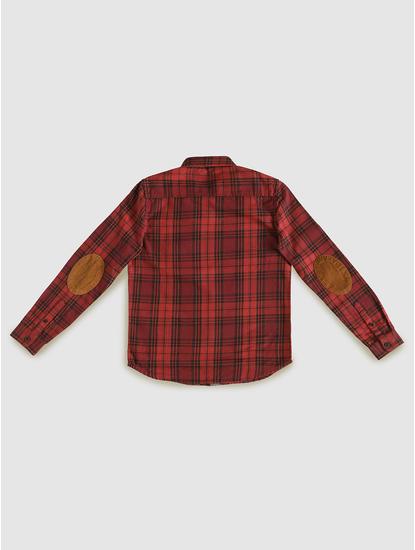 Junior Red Check Shirt