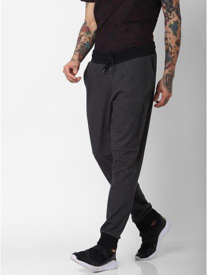 Dark Grey Drawstring Sweatpants
