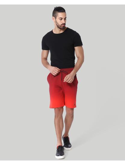 Red Drawstring Sweatshorts