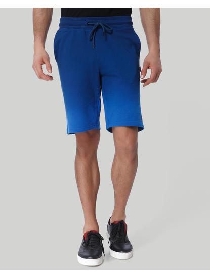 Blue Drawstring Sweatshorts