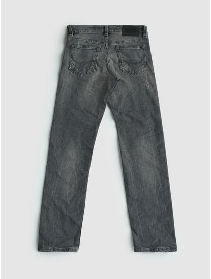 Junior Grey Low Rise Ben Slim Fit Jeans
