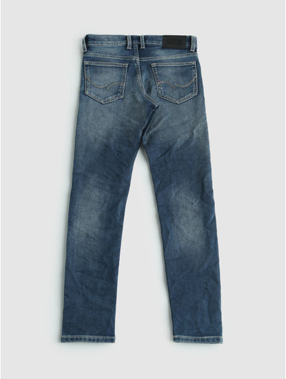 Junior Blue Light Faded Ben Slim Fit Jeans