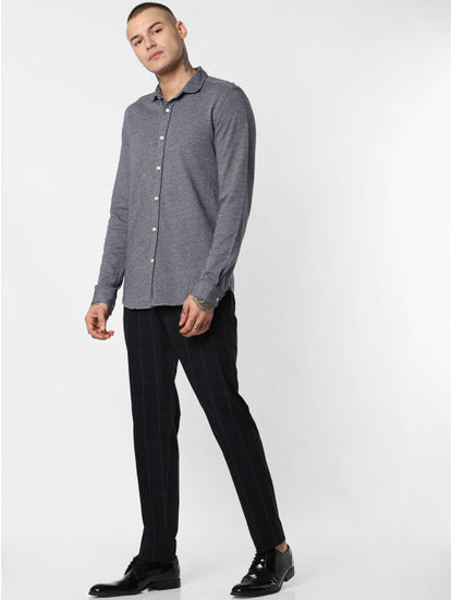 Dark Grey Full Sleeves Shirt