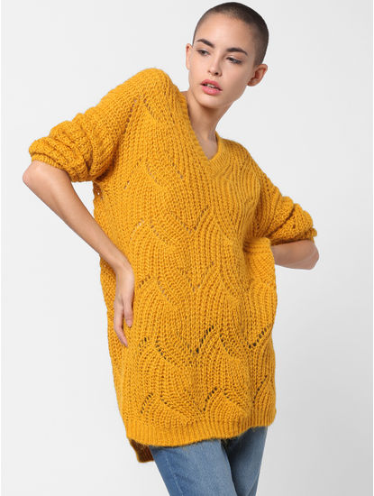Yellow Long Pullover