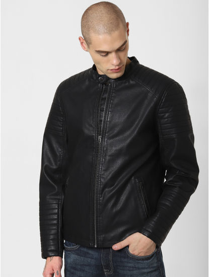 Black Perforated Jacket