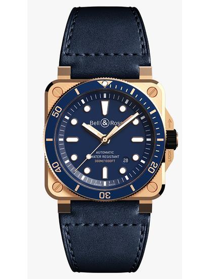 BR 03-92 Diver Blue Bronze