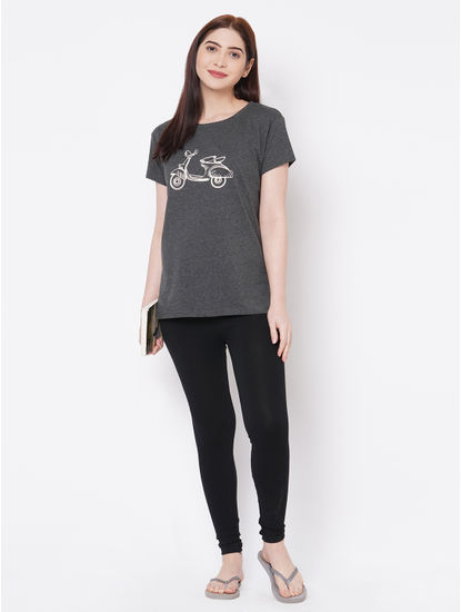 Textured Scooter Lounge T-shirt