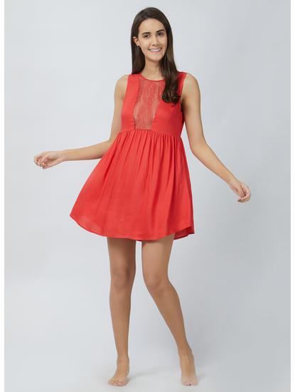 Sexy Babydoll Lace Dress