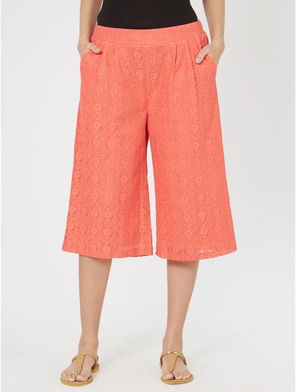 Pretty Lace Lounge Culottes