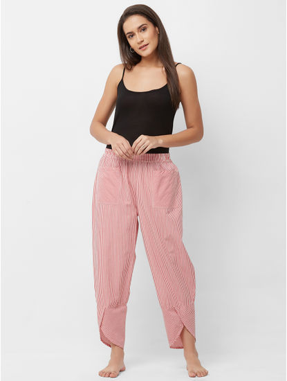 Relaxed Striped Lounge Pant
