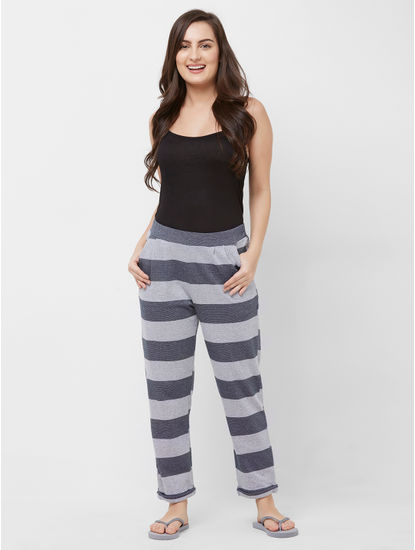 Bold Striped Lounge Pant