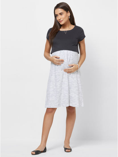 Maternity Ribbed Dress