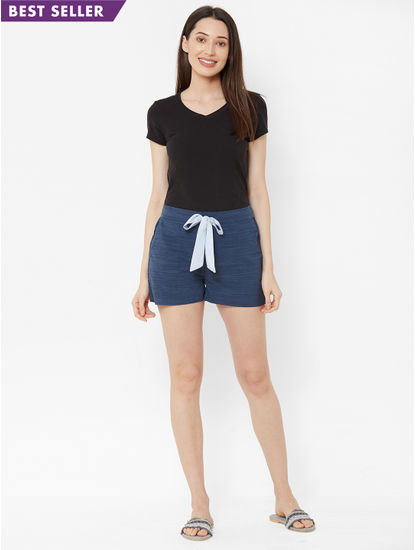 Classic Textured Lounge Shorts