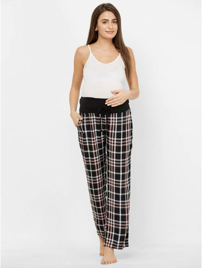 Checked Maternity Pyjamas