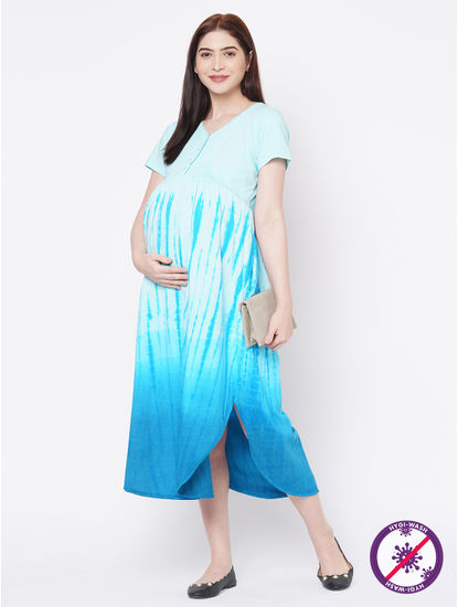 Tie n Dye Maternity Dress