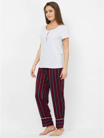 Cosy Cotton + Rayon Top & Pyjama Set