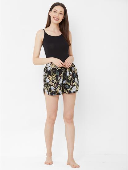 Comfy Floral Sleep Shorts