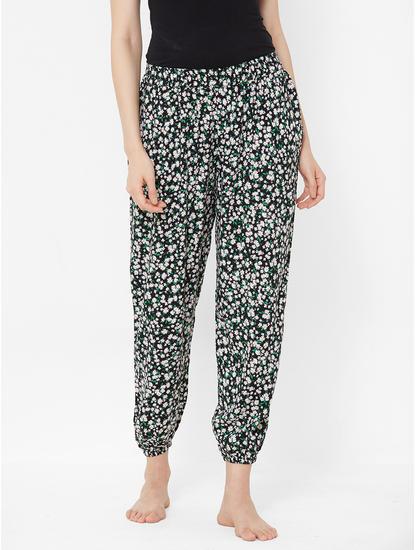 Floral Print Woven Pyjama