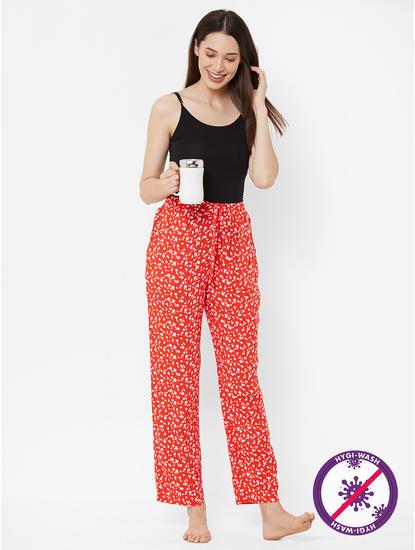Chic Floral Print Pyjamas