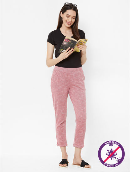 Stylish Textured Lounge Pants