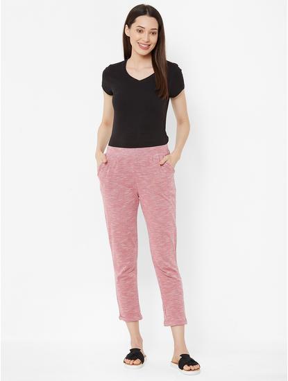 Stylish Textured Lounge Pants