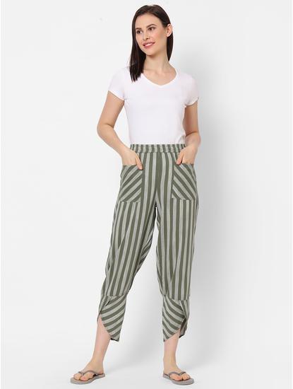 Classic Striped Lounge Pants