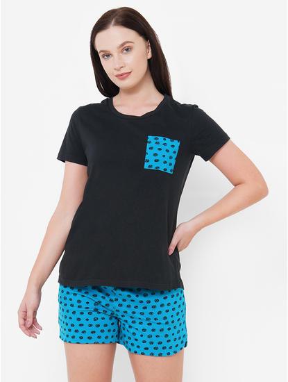 Polka Dot T-Shirt & Shorts Set