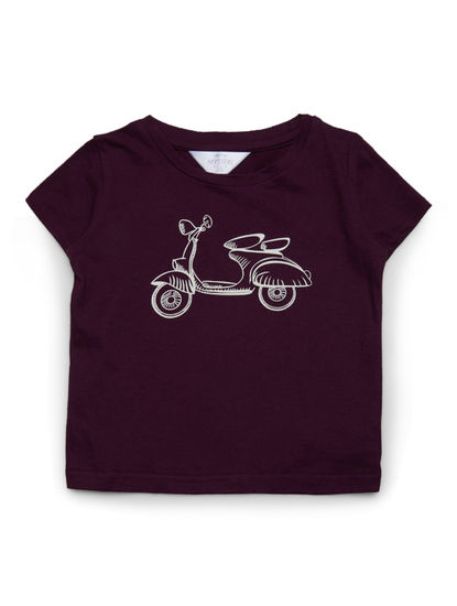 Girls Cool Scooter T-shirt