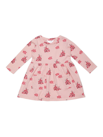 Girls Dreamy Peach Sleep Dress