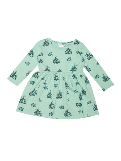 Girls Cool Green Sleep Dress