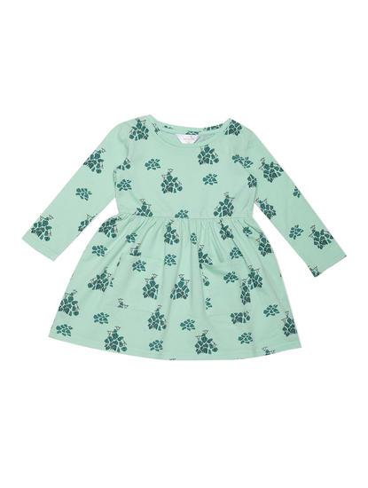 Girls Cool Green Sleep Dress