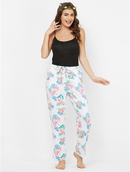 Tropical Floral Print Pyjama