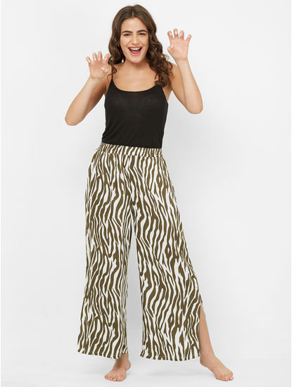 Funky Zebra Print Pyjama