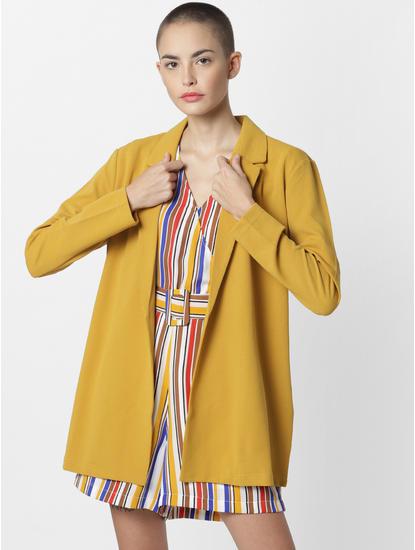 Mustard Long Blazer