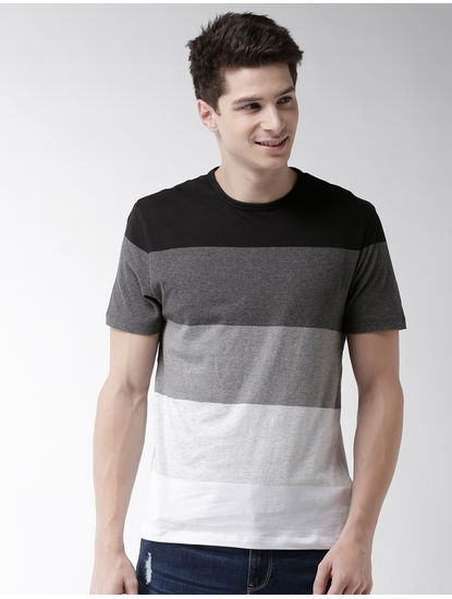 Black Striped T-Shirt