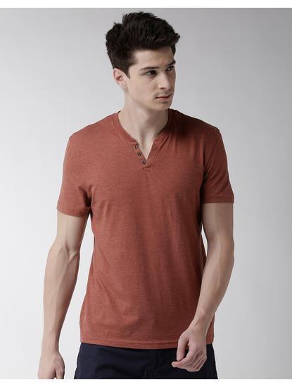 Red Melange T-Shirt