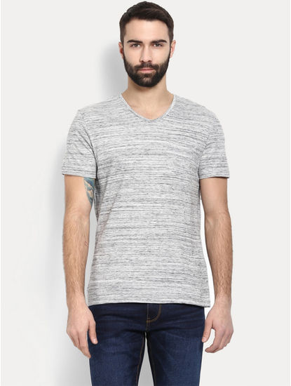 Grey Melange T-Shirt