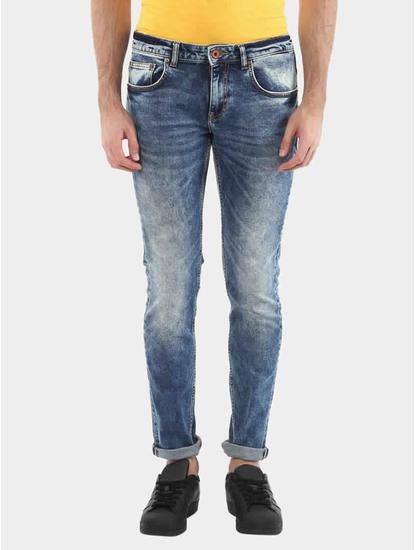 Jorandy Blue Straight Jeans